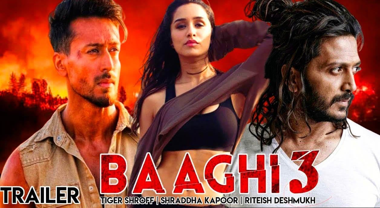 Hindi Movie Review 'Baggi -3' Too much action spoils the film