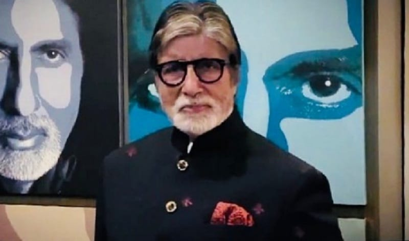 bollywood actor amitabh bachchan given gulabo sitabo tongue twister challenge