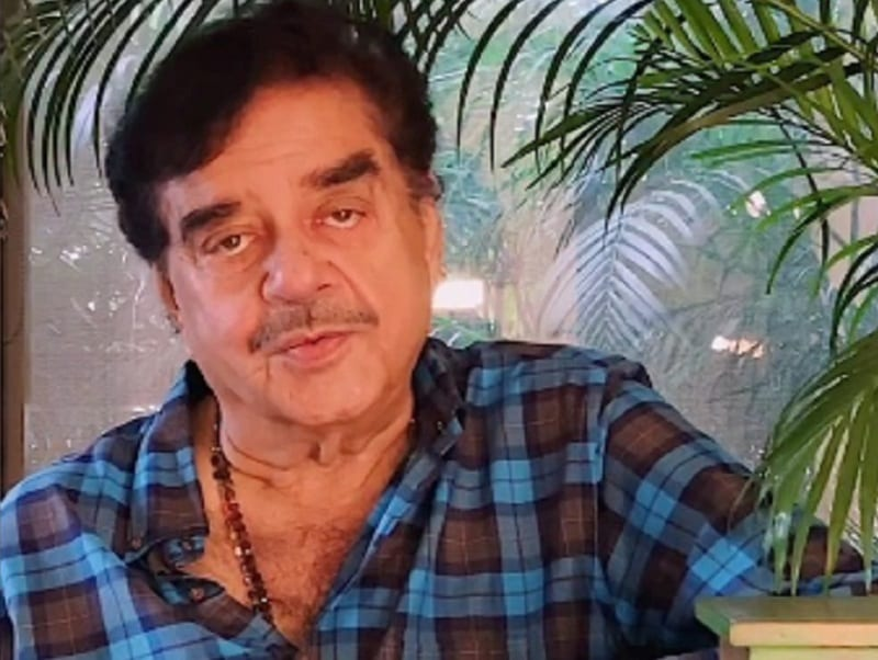 Actor Shatrughan Sinha
