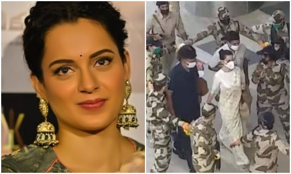 modi govt gave Kangana Ranaut y plus security