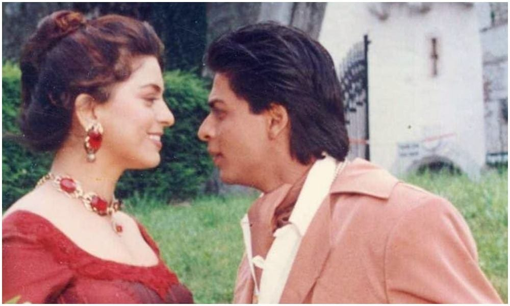 shahrukh khan and juhi Chawla