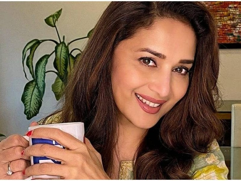 Madhuri Dixit Said Nothing Like Ending A Long Day At Work With A Cup Of Chai