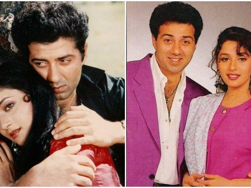 after tridev why sunny deol and madhuri dixit never worked together