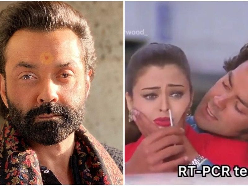 for years ago bobby deol prepared to escape from corona