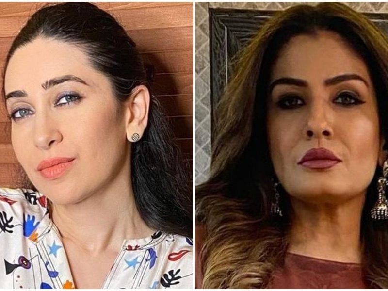 for this reason karishma kapoor raveena tendon fight with each others hair