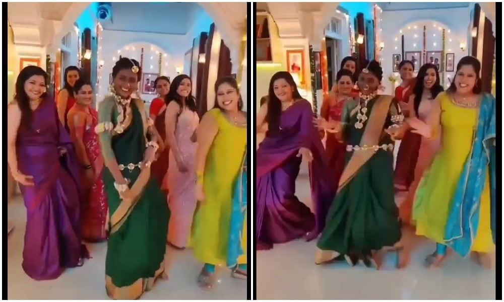 Rang Maza Vegla Serial Artist's Dance On Vaathi Coming Song