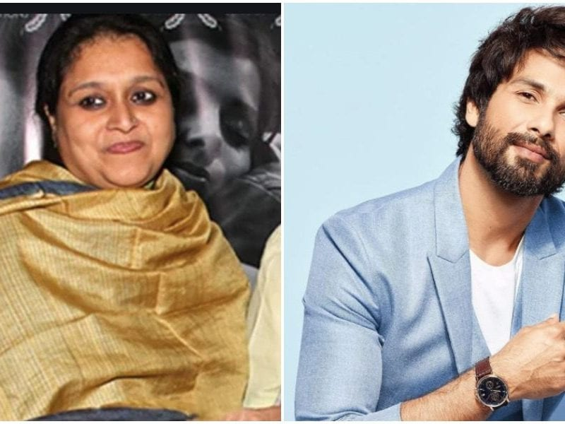 Healthy Relation between shahid Kapoor and his step mother supriya pathak